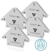 Escuadras magnéticas de soldadura hasta 25 lbs/...