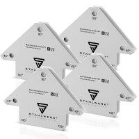 Escuadras magnéticas de soldadura hasta 25 lbs/ 11,3 kg, 3 piezas