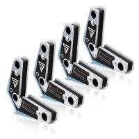 Conjunto de escuadras de soldadura magnéticas 4 piezas 20 lbs/ 9 kg
