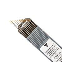 Electrodos de tungsteno WL15 dorados, 5 x 1,6 mm + 5 x...