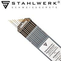Electrodos de tungsteno WL15 dorados, 5 x 1,6 mm + 5 x 2,4 mm
