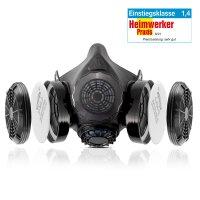 STAHLWERK HM-2 ST media máscara con doble filtro