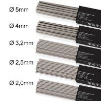 Juego de 5 electrodos de varilla STAHLWERK AWS E6013, de...