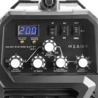 STAHLWERK AC/DC Plasma TIG 200 ST IGBT - Equipo completo