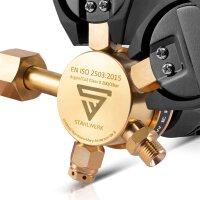Manorreductor para argón/ CO2/ gas de protección